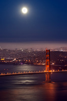 GGB Moonrise over Tower